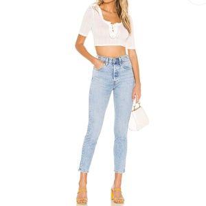 Levi's 501 S Skinny Jeans High Waist Tango Light